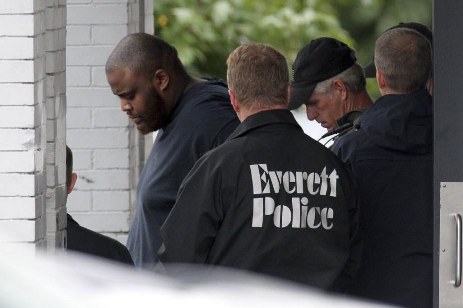 David Wright avait été arrêté le lendemain de... (Photo John Wilcox/Boston Herald, AP)