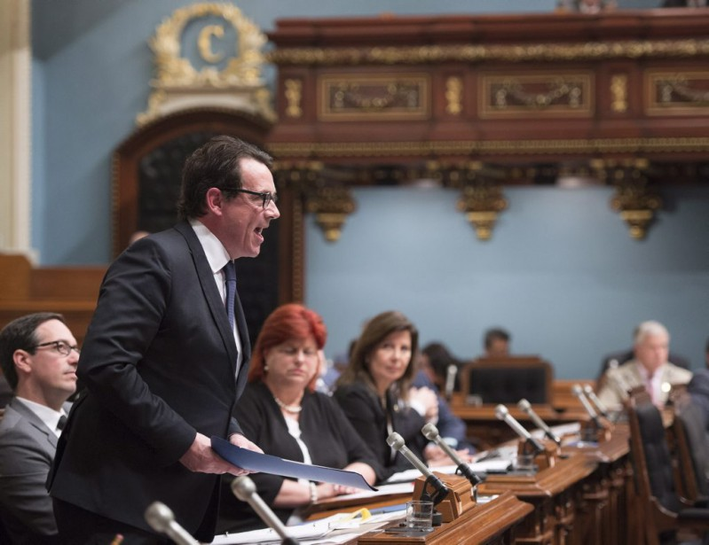 Le chef du Parti québécois, Pierre-Karl Péladeau.... (Photo Jacques Boissinot, PC)