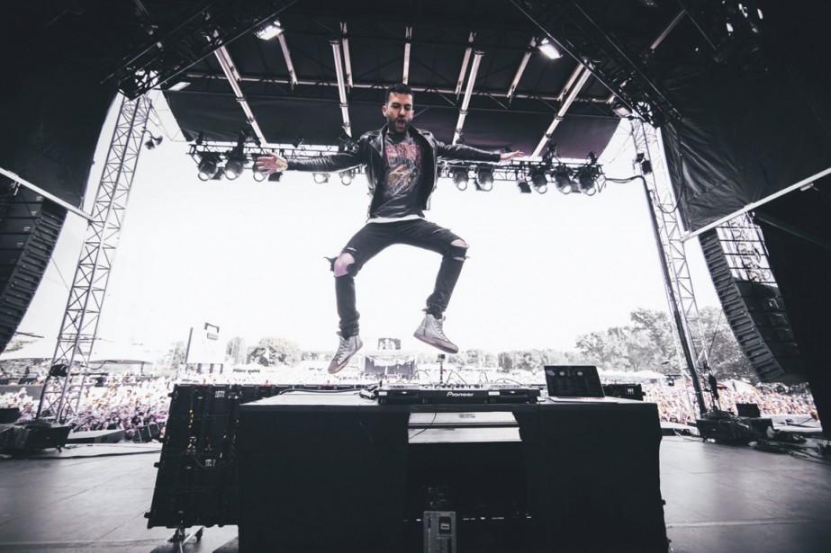 Le DJ A-Trak a notamment collaboré avec Kanye... (Photo tirée de la page facebook de l'artiste)