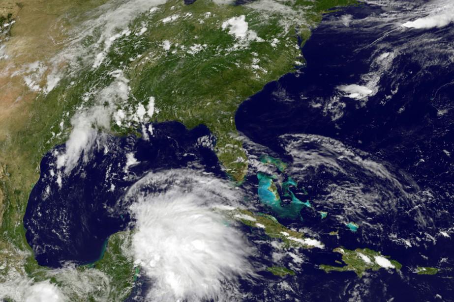 L'ouragan Carlos s'est formé samedi dans... (Photo fournie par la NASA)