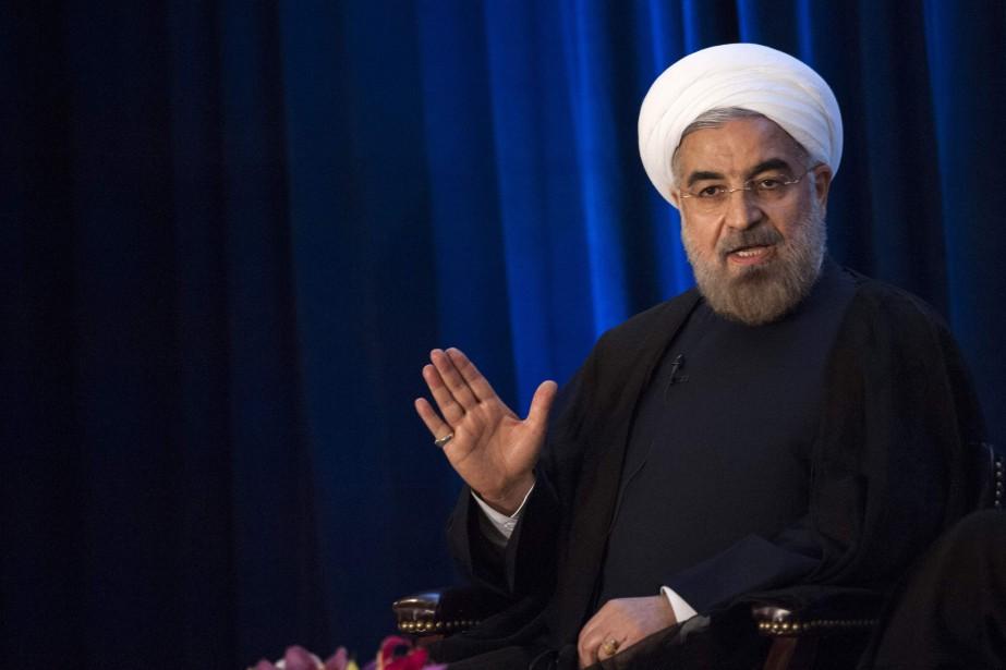 Le président de l'Iran, Hassan Rohani.... (PHOTO ARCHIVES REUTERS)