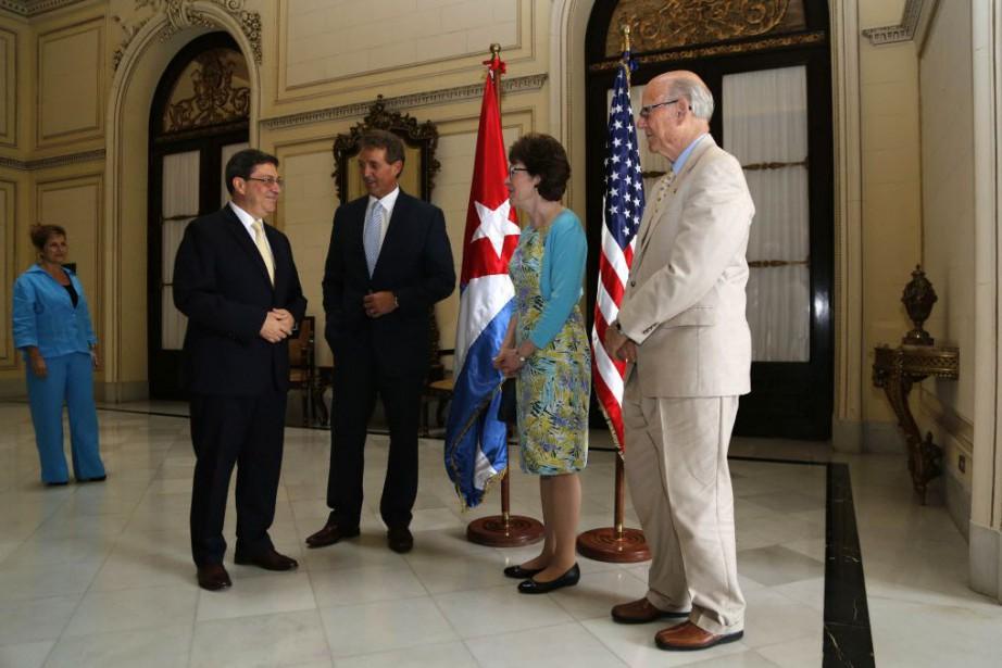 La directrice générale pour les États-Unis au ministère,... (Photo Desmond Boylan, AP)