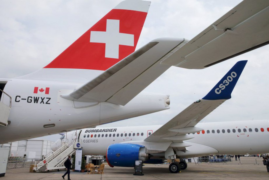 Le plus gros appareil de la famille Bombardier,... (PHOTO PASCAL ROSSIGNOL, REUTERS)
