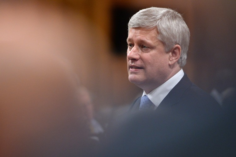 Le premier ministre Stephen Harper.... (Photo: PC)