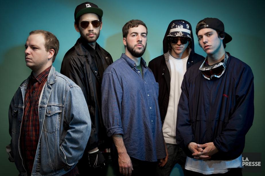 Le groupe rap Dead Obies n'a jamais vraiment quitté... (PHOTO ARCHIVES LA PRESSE)