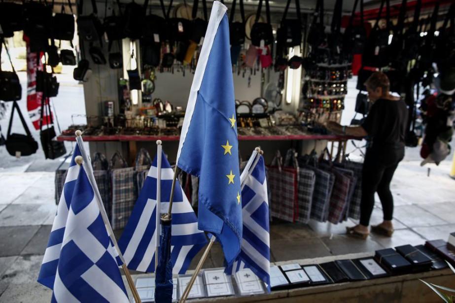 Les positions de la Grèce et ses... (PHOTO YORGOS KARAHALIS, ASSOCIATED PRESS)