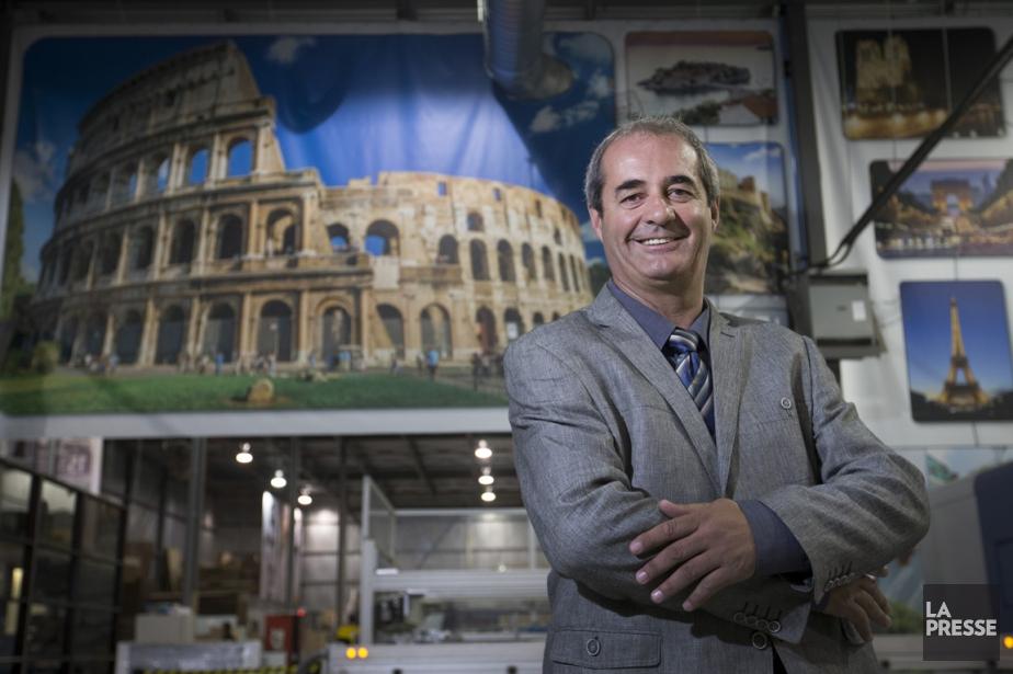 Pierre Péloquin, président-directeur général de Version Image Plus,... (PHOTO IVANOH DEMERS, LA PRESSE)