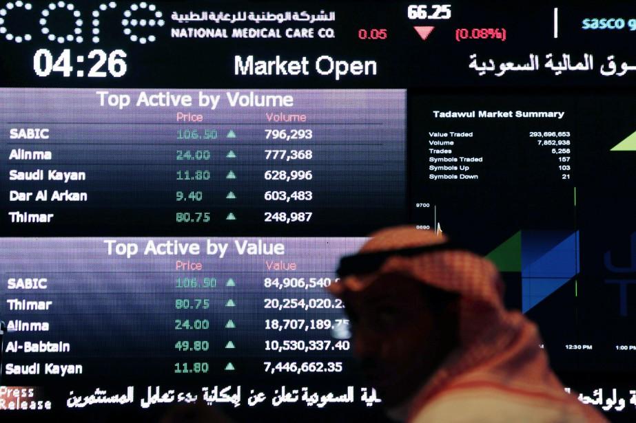 Actuellement, 162 compagnies sont cotées sur la Bourse... (PHOTO HASAN JAMALI, ASSOCIATED PRESS)