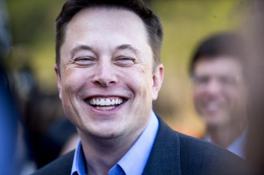 Le PDG de Tesla,Elon Musk,a suggéré il y... (Photo Noah Berger, archives AP)