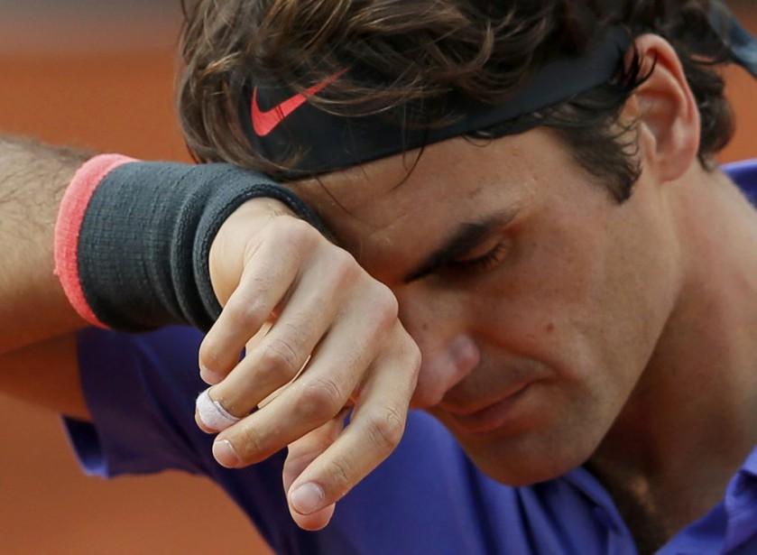 Roger Federer... (PHOTO GONZALO FUENTES, ARCHIVES REUTERS)