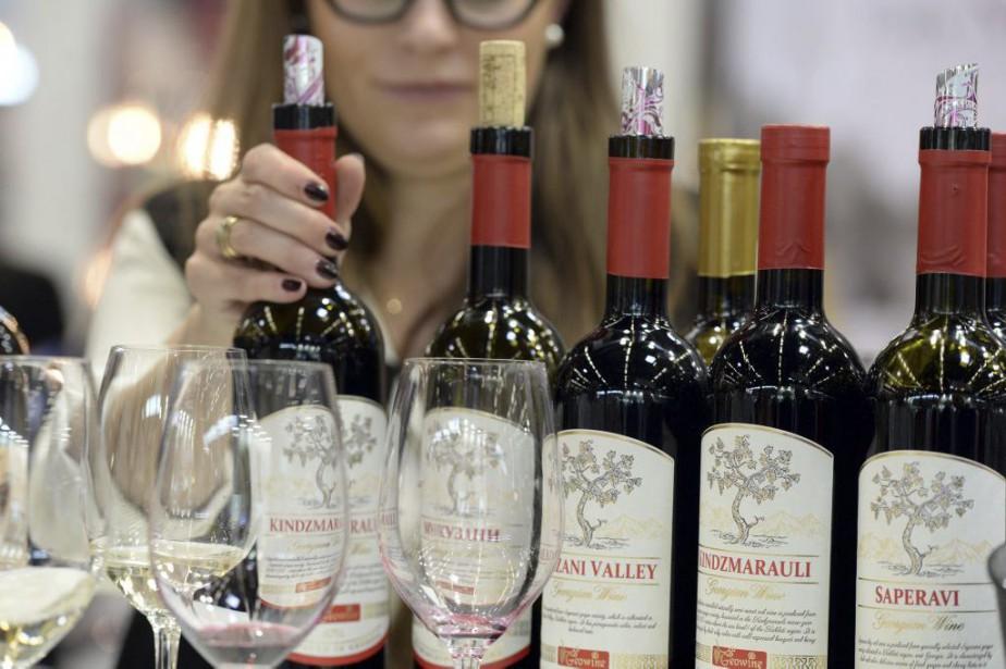 Des vins deGéorgie, qui se revendique comme berceau... (PHOTO JEAN-PIERRE MULLER, AFP)
