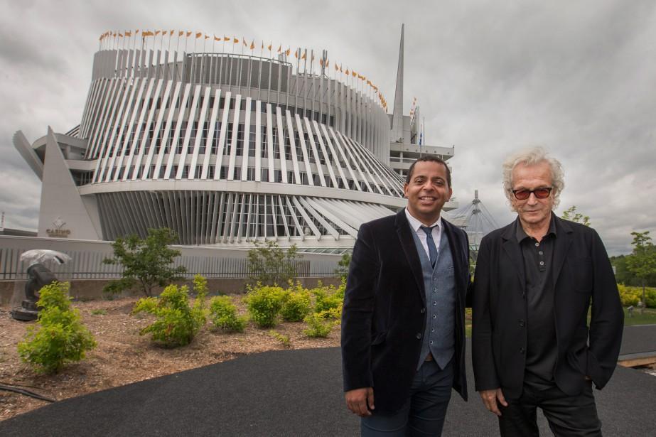 Gregory Charles et Luc Plamondon se sont associés... (PHOTOIVANOH DEMERS,LA PRESSE)