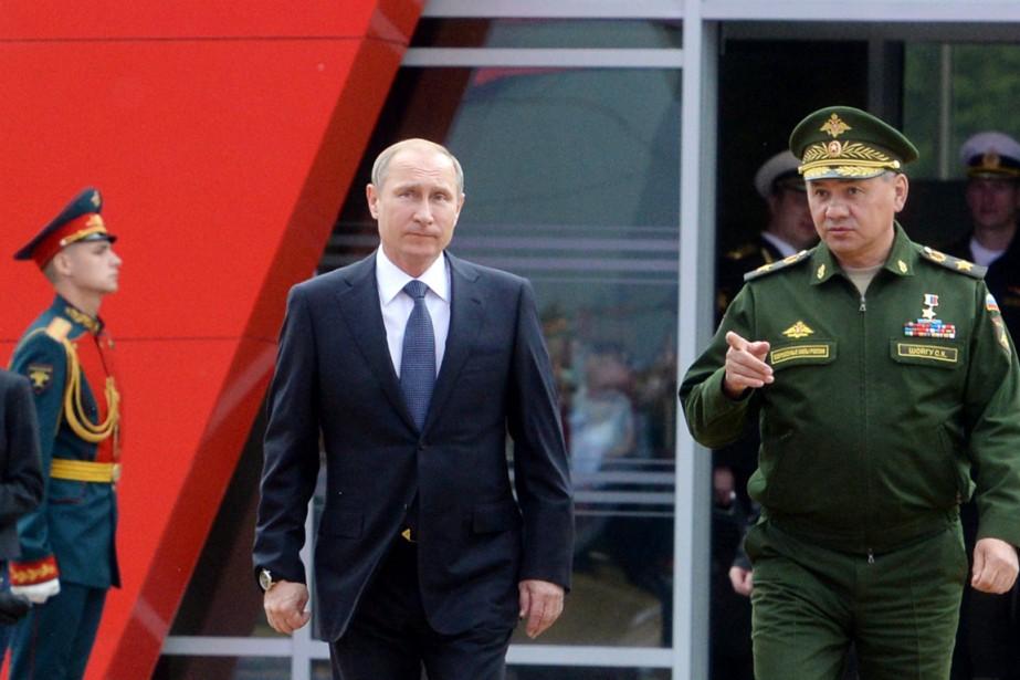 «Cette année, plus de 40 nouveaux missiles balistiques... (PHOTO VASILY MAXIMOV, AP)