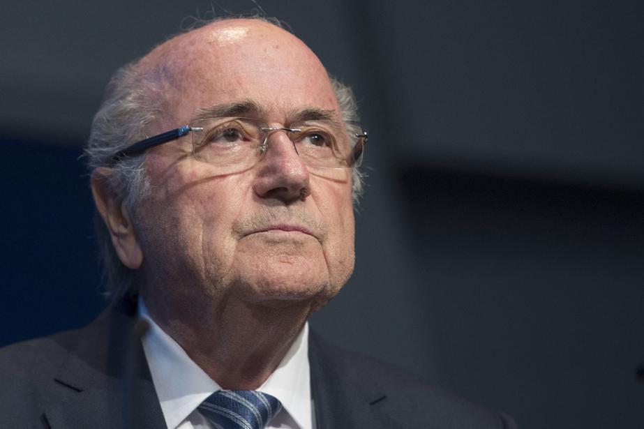 Le président de la FIFA, Sepp Blatter,a été... (Photo Valeriano Di Domenico, archives AFP)