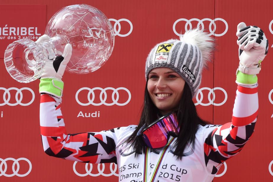 Anna Fenninger... (Photo Philippe Desmazes, AFP)