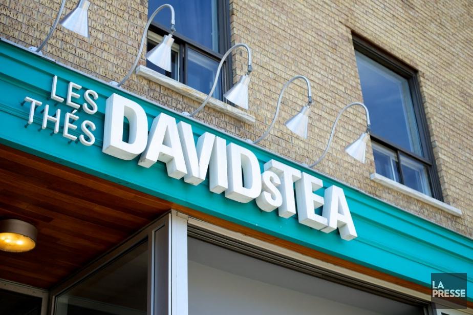 Le marchand de thé québécois David's Tea a creusé... (PHOTO ARCHIVES LA PRESSE)