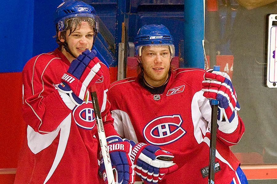 Reverra-t-on les frères Sergei et Andrei Kostitsyn dans... (Photo Christinne Muschi, archives Reuters)