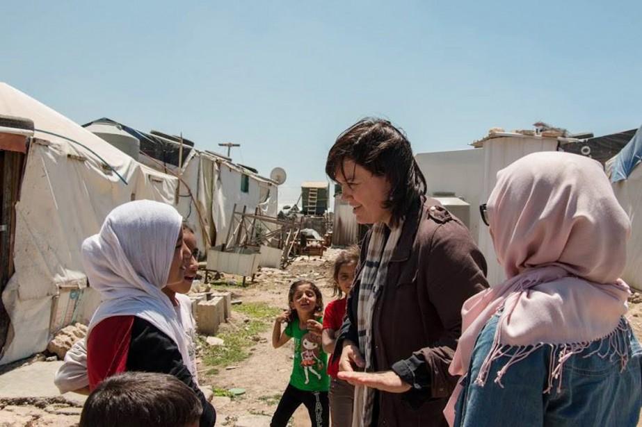 Béatrice Vaugrante, directrice générale d'Amnistie internationale pour le... (PHOTO FOURNIE PAR AMNISTIE INTERNATIONALE)