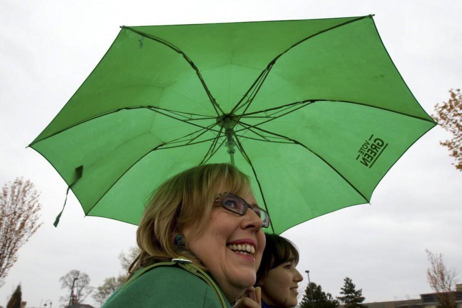 Le Parti Vert, qui a lancé sa campagne... (Photo Darryl Dyck, Archives La Presse Canadienne)
