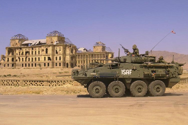 Le LAV III a été associé aux troupes... (ARCHIVES PC)