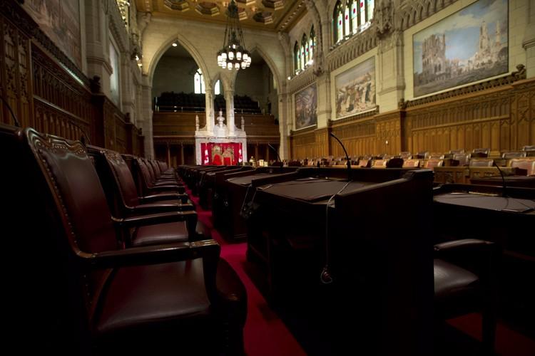 L'abolition de la Chambre haute rallie une majorité... (PHOTO ARCHIVES LA PRESSE CANADIENNE)