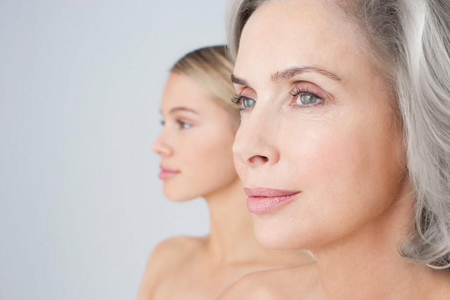 L'âge de la peau serait surtout déterminé par... (Photo MASTERFILE)