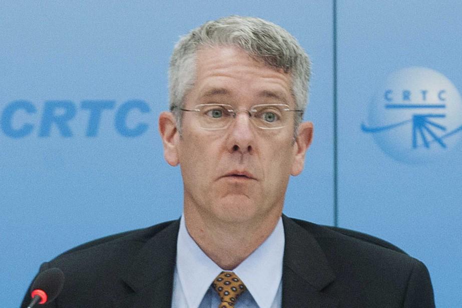 Le président du CRTC, Jean-Pierre Blais.... (PHOTO GRAHAM HUGUES, archives La Presse Canadienne)