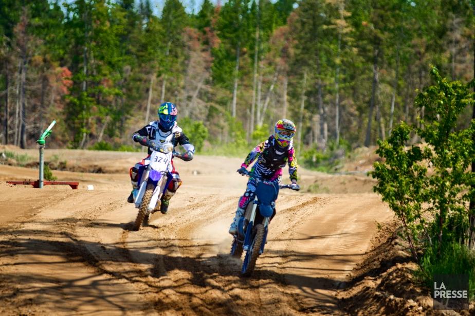 Selon Yves Hamel, le motocross attire moins les jeunes aujourd'hui. (Photo Marco Campanozzi, La Presse)