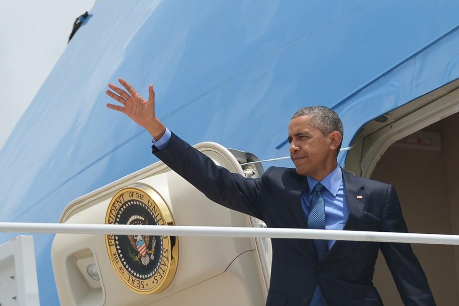 Le président Obama placera cette visite dans la... (PHOTO MANDEL NGAN, AFP)