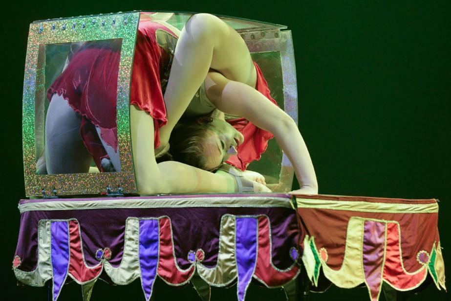 En attendant que... (Photo fournie par le Festival de cirque Vaudreuil-Dorion)