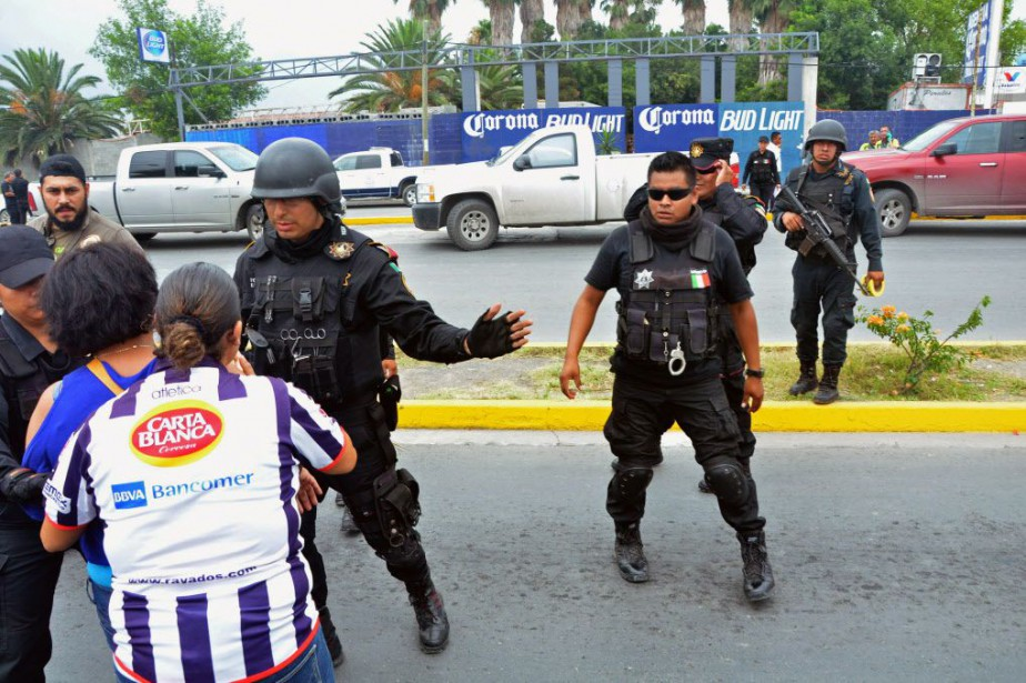 Situé à la frontière avec les États-Unis, le... (Photo Emilio Vazquez, AP)