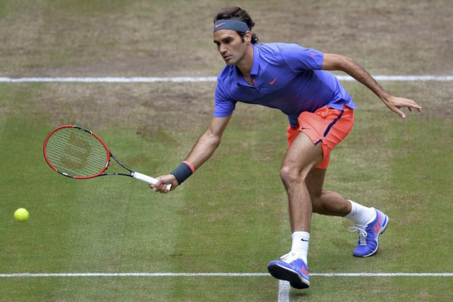 Roger Federer... (PHOTO AFP)