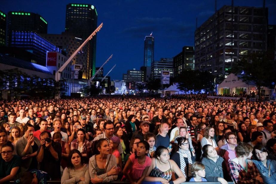 Selon les organisateurs, le tiers des festivaliers sont... (PHOTO ULYSSE LEMERISE, COLLABORATION SPÉCIALE)