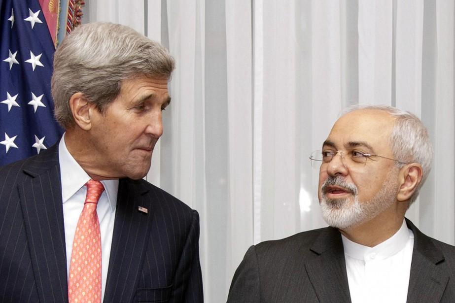 Le chef de la diplomatie iranienne Mohammad Javad... (PHOTO BRIAN SNYDER, ARCHIVES AP)