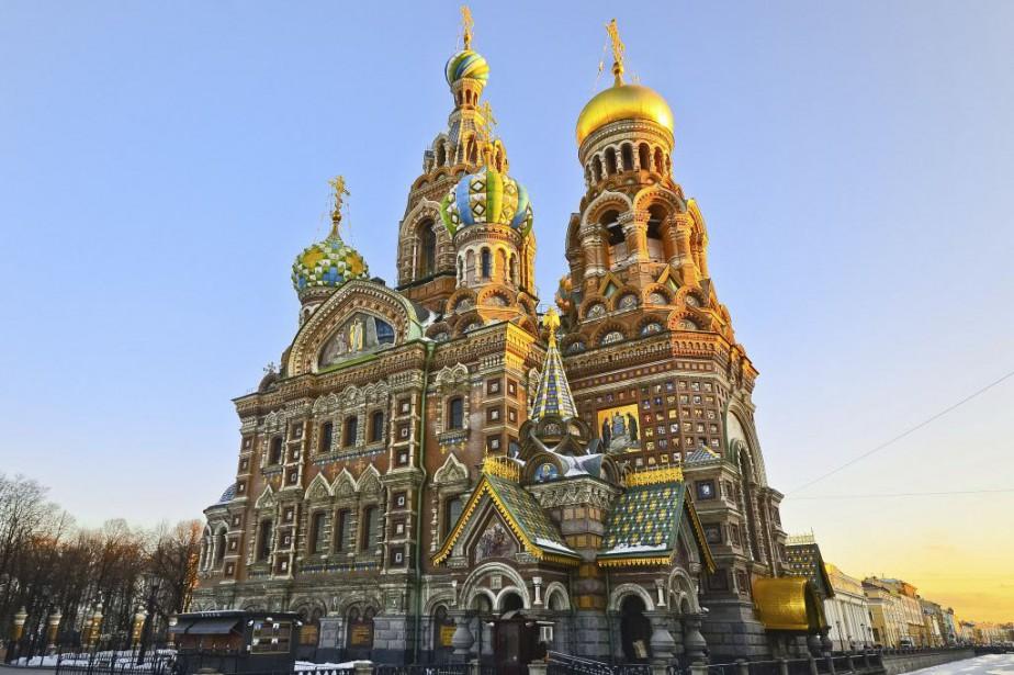 Cathédrale Saint-Sauveur-sur-le-Sang-Versé de Saint-Pétersbourg.... (Photo Digital/Thinkstock)