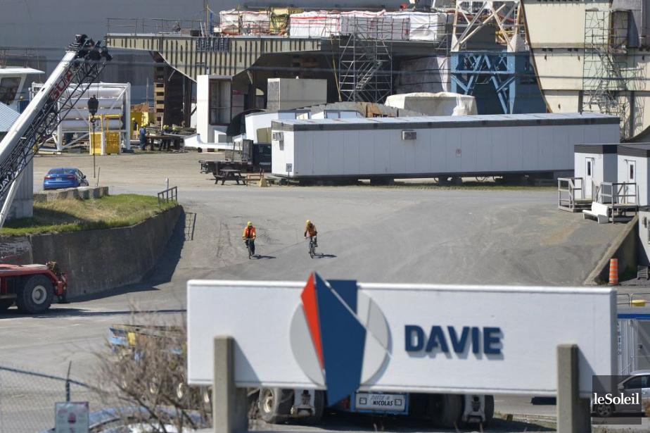 Davie avait été écartée des contrats de construction... (Photo Yan Doublet, Le Soleil)