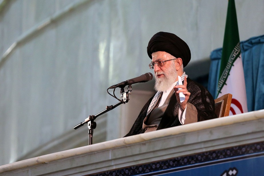 L'ayatollah Khamenei aura le dernier mot en cas... (PHOTO AFP/GOUVERNEMENT IRANIEN)