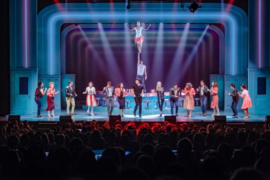 La comédie musicale Grease est présentée au Théâtre... (Photo Vivien Gaumand, fournie par Juste pour rire)