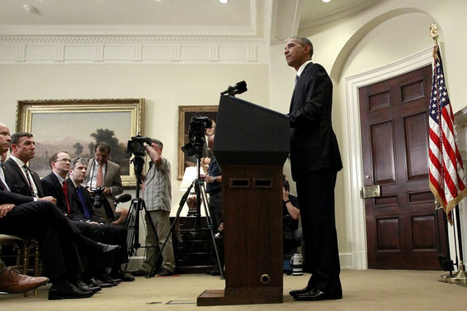Obama a reconnu que la politique de non-concession,... (Photo Jonathan Ernst, Reuters)