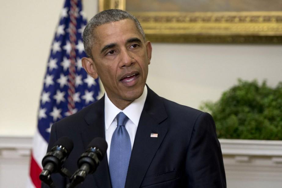 Barack Obama... (Photo Carolyn Kaster, archives AP)