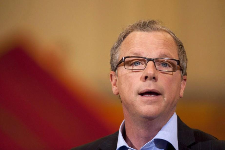 Le premier ministre de la Saskatchewan, Brad Wall.... (Photo Liam Richards, La Presse canadienne)