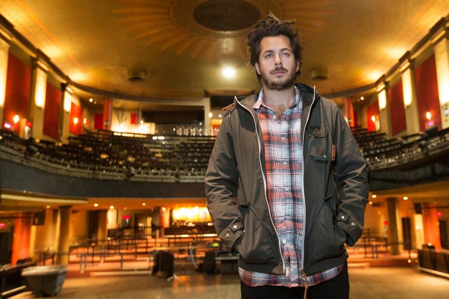 Mathieu Holubowski, auteur-compositeur-interprète folk de 26ans, pense déjà... (PHOTO ROBERT SKINNER, LA PRESSE)