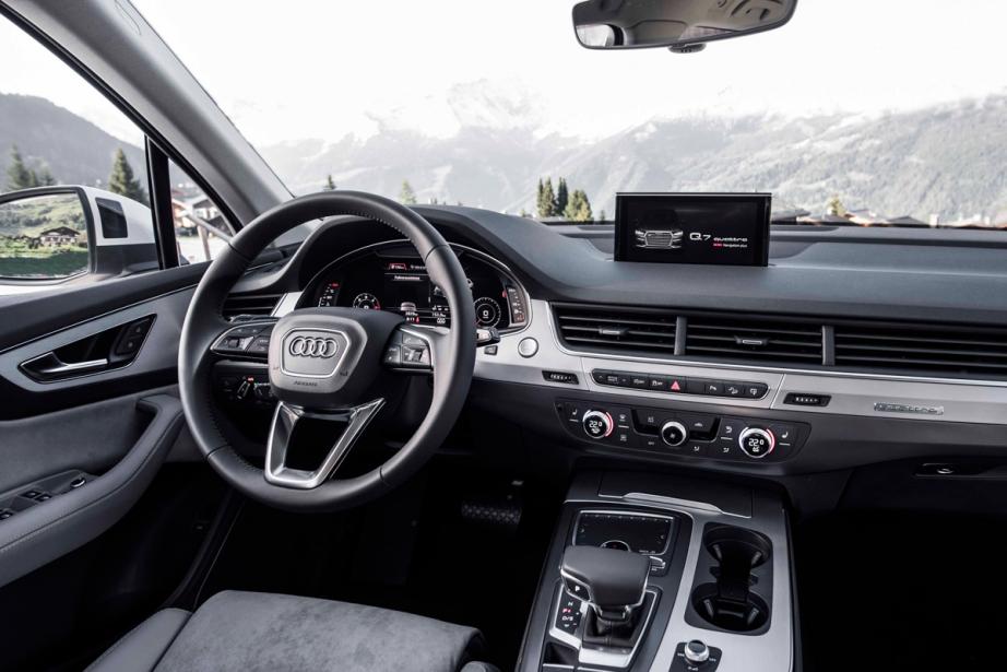 Audi q7 2016 succ s renouvel ric lefran ois audi for Interieur q7