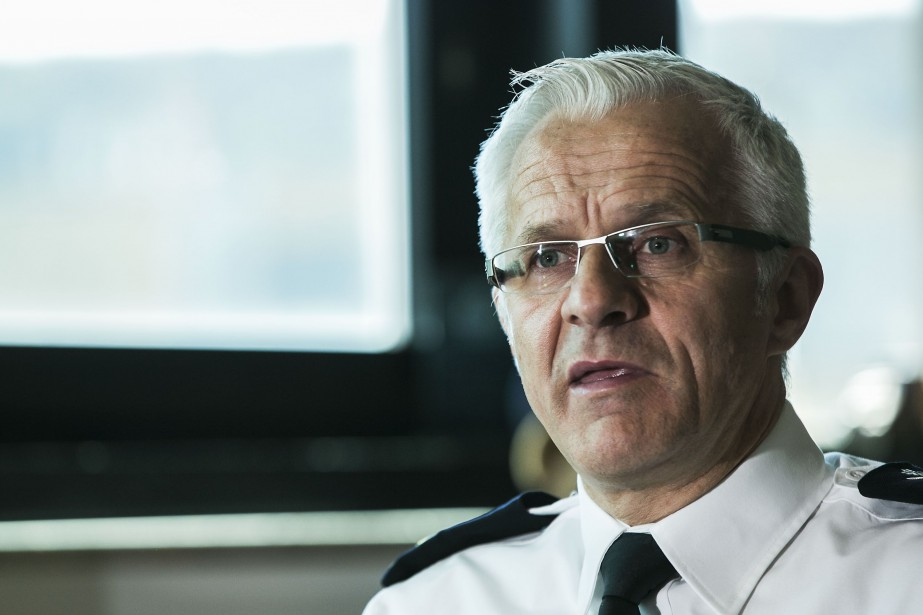 Le directeur du SPVM, Marc Parent... (PHOTO HUGO-SÉBASTIEN AUBERT, ARCHIVES LA PRESSE)