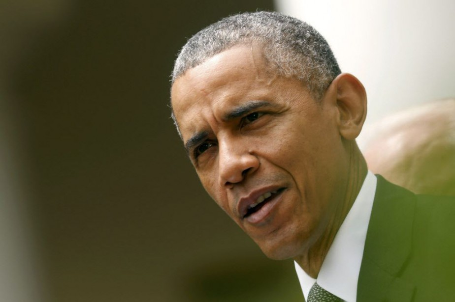 Barack Obama a de nouveau insisté sur le... (Photo Jonathan Ernst, Reuters)