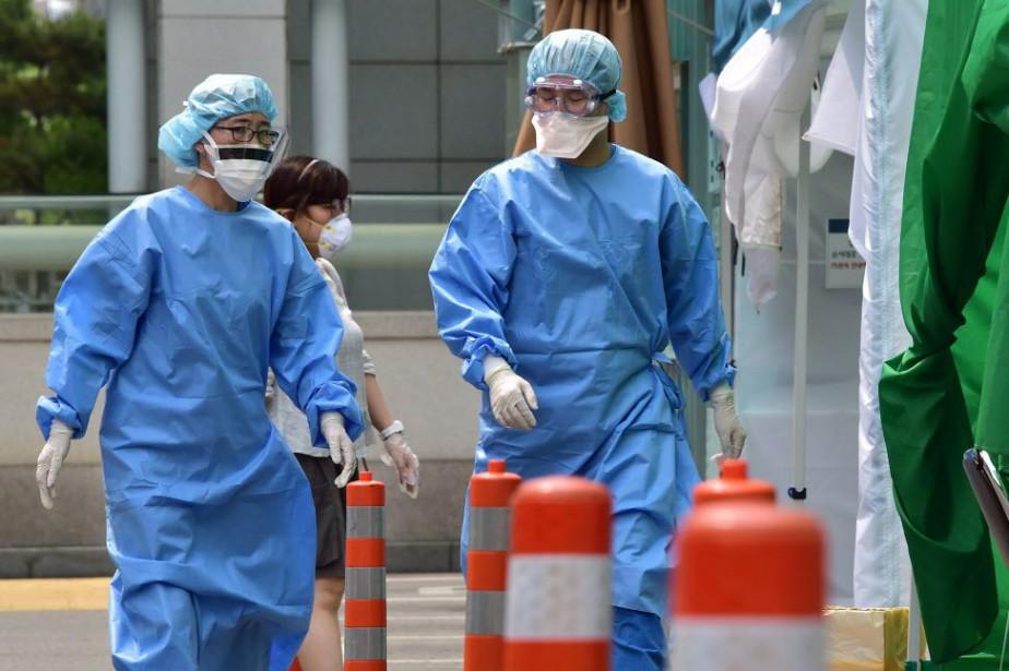 Il n'existe aucun vaccin pour ce virus, qui... (PHOTO JUNG YEON-JE, AFP)