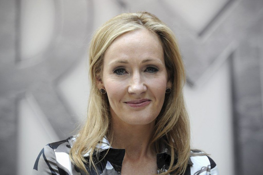 J.K. Rowling... (AFP, Carl Court)