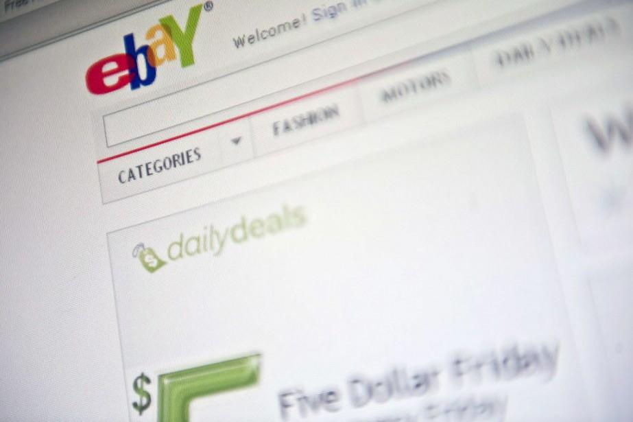 Le groupe de commerce en ligne américain eBay a... (PHOTO NICHOLAS KAMM, AFP)