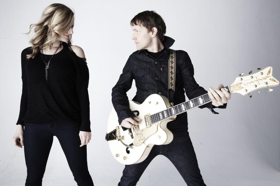 Melissa McClelland et Luke Doucet forment le duo... (Photo fournie par Spectra)
