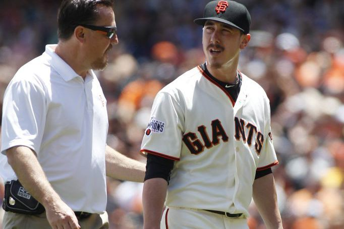 Tim Lincecum... (Photo George Nikitin, AP)